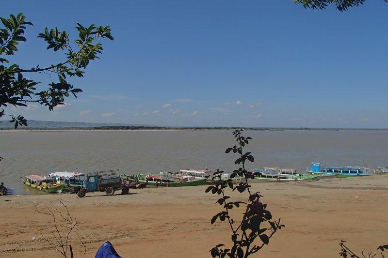 Myanmar Río Irrawady