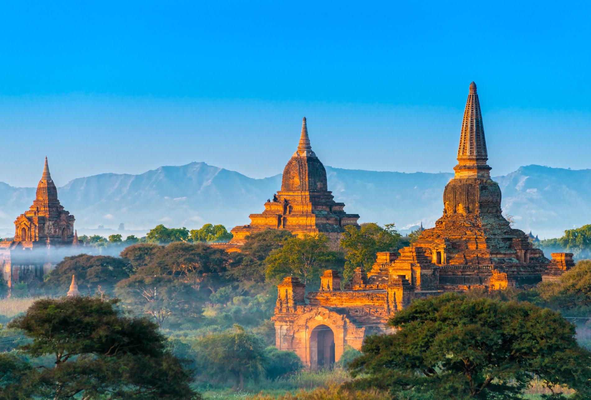 Los templos de Bagan; lo mejor de un viaje Myanmar
