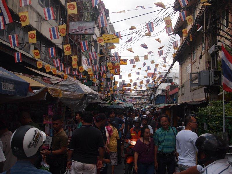 Barrio Chino, Bangkok, Tailandia