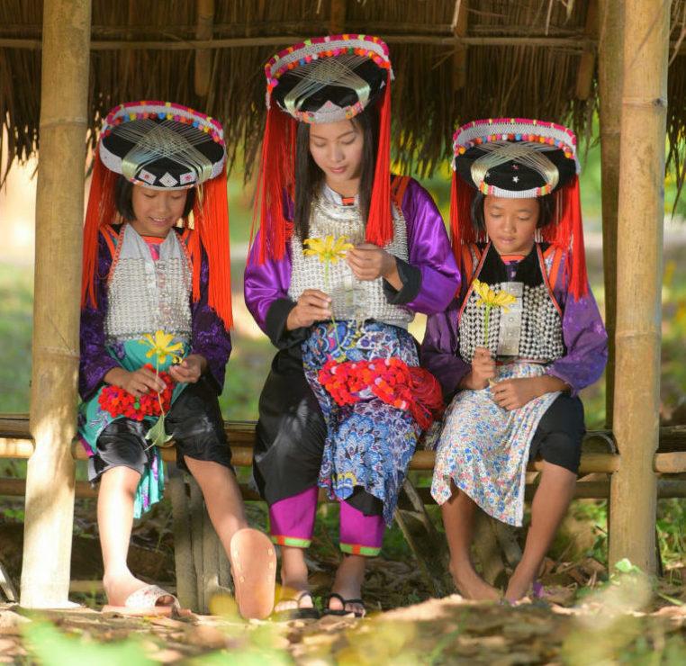 Tailandia pueblos tribales triángulo de oro - Lahu
