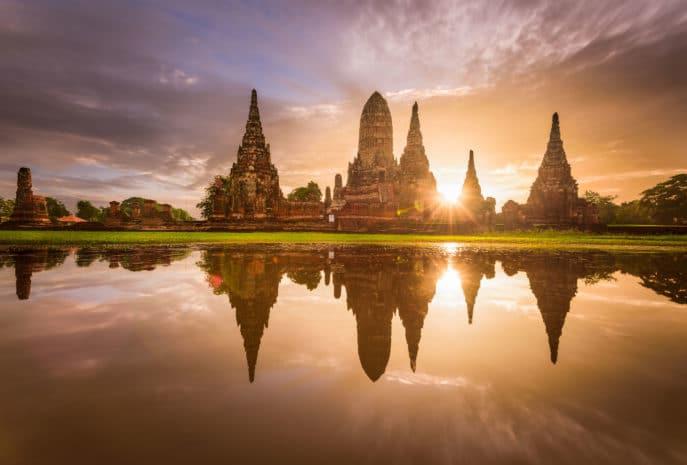 Tailandia Reino Ayutthaya