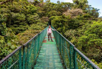 viaje a monteverde, costa rica