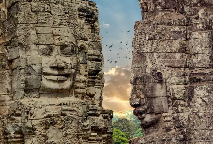 Angkor Thom, Siemreap, Cambodia