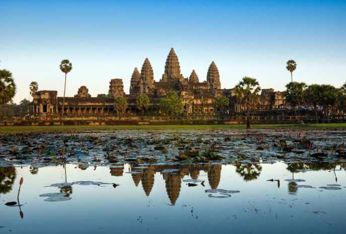 viaje de aventura camboya Angkor Wat